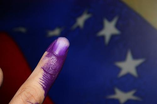 Foto sulle elezioni in Venezuela