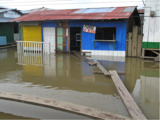 House flooded in Riosucio