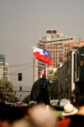 Corteo, un anno senza ricostruzione, Cile.
