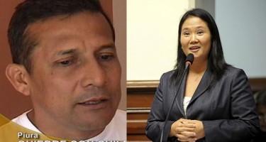 Candidatos Ollanta Humala y Keiko Fujimori