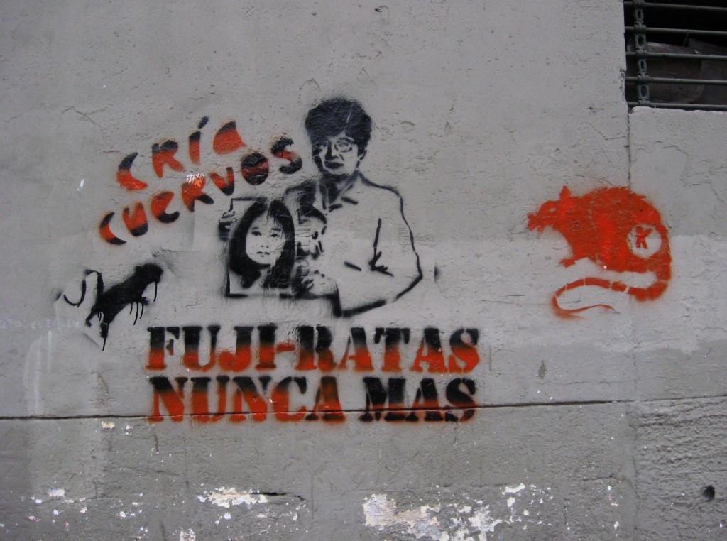 graffitti anti keiko