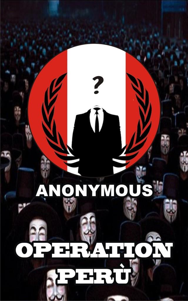 Anonymous - Operation Peru