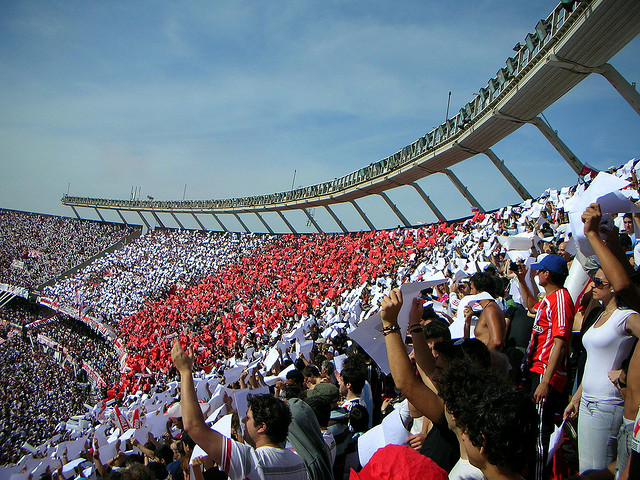 River Plate Monumental stadium. Photo: Maximiliano Neira (CC BY-NC-ND 2.0).