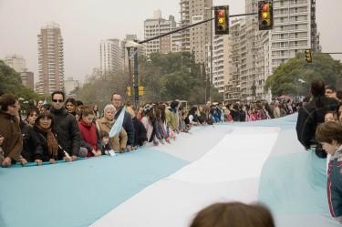 Grad Rosario i defile argentinske zastave od 20 km- foto: Lora Šnajder