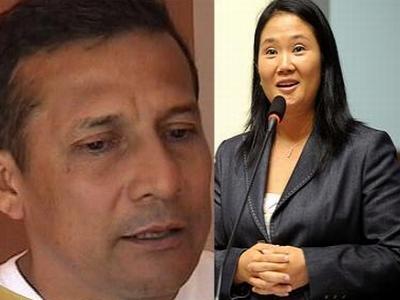 Ollanta Humala Keiko Fujimori