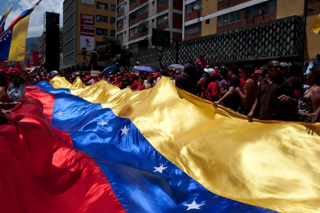 March for the bicentennial in Caracas. July 3, 2011. Image from Camilo Delgado Castilla, under Demotix copyright.