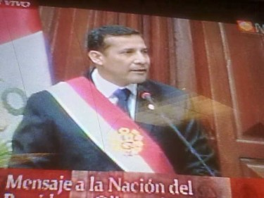 Ollanta Humala Peru