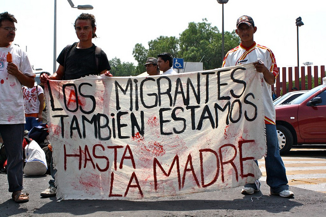 Migrants are also fed up; by Flickr user Brenmorado (CC BY-NC-SA 2.0).
