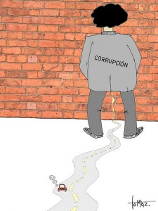 Corruption caricature by Tomaz Garzia (CC BY-NC 2.5)