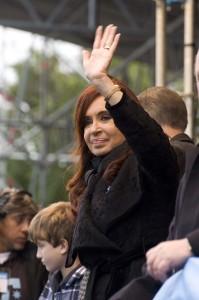 Cristina Fernandez de Kirchner. Foto di Laura Schneider