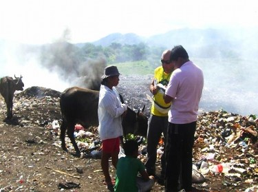 Återvinnare i Guatemala, av Exequiel Estay, Facebook Red Lacre