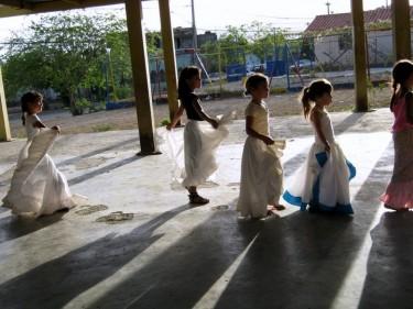 Prove di danza folcloristica