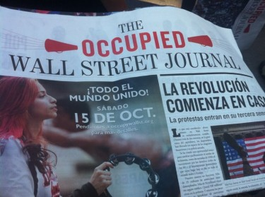 Occupied Wall Street Journal in Spanish