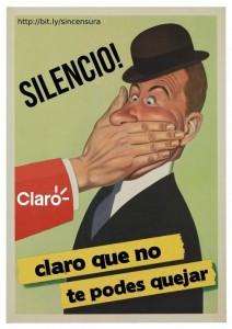 Immagine per la campagna contro la censura.