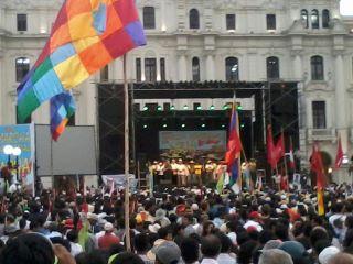 Marcha del Agua - Plaza San Martín