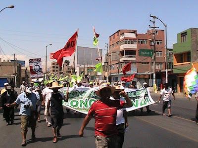 La Marcha del Agua en Chimbote