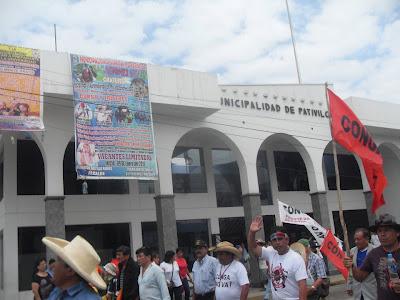 La Marcha del Agua en Pativilca