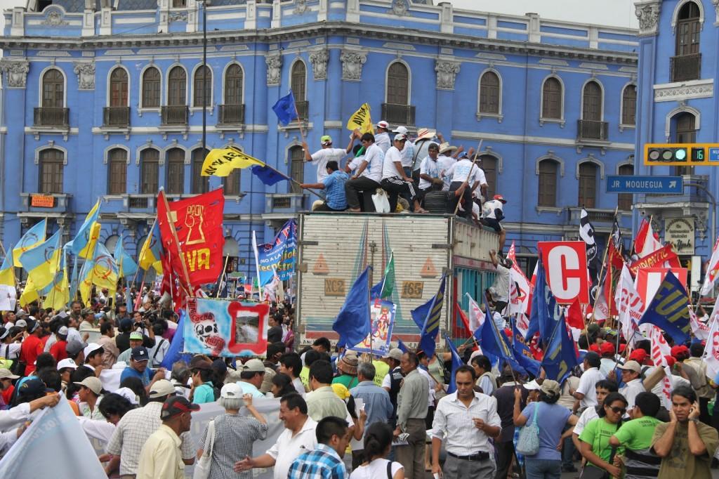 Marcha del Agua - Lima