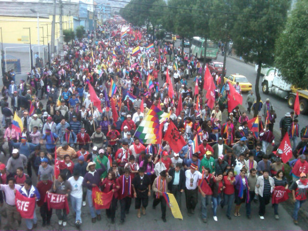 #marchavida cerca de Guajalo