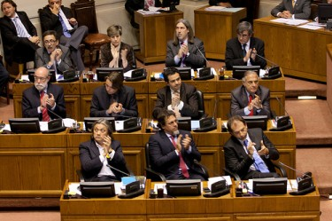 Chilean Senate. Picture by Flickr user congresochile (cc by 2.0)
