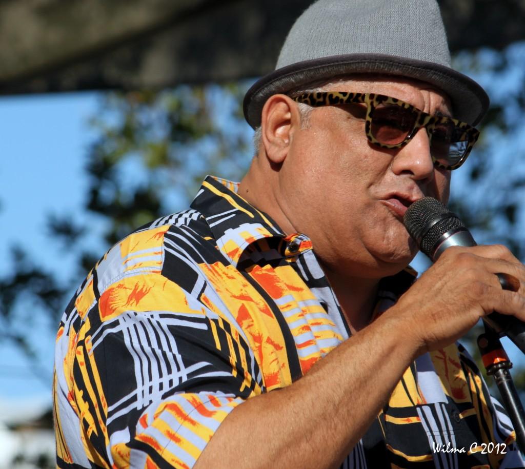 El trompetista y cantante Jerry Medina.