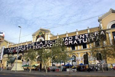 """Специално 2011 """"Студентско движение"""". Снимка от Museo de Arte Callejero (Flickr, CC BY-NC-SA 2.0), 25-ти септември 2011"""