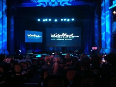 El foro cerró con la entrega del Premio Vaclav Havel a la Disidencia Creativa