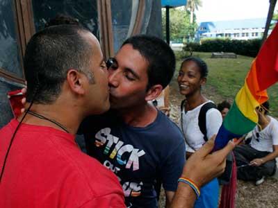 Besada por la Diversidad y la Igualdad en La Habana, Cuba. (Foto: Cortesía de Jorge Luis Baños)
