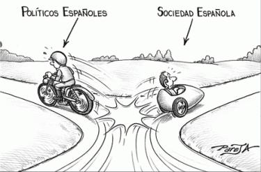 Sociedad y políticos en España