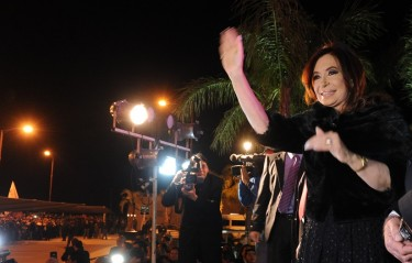 Cristina Fernández de Kirchner - Photo from the Casa Rosada website, under a Creative Commons license