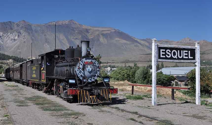 Stazione ferroviaria a Esquel