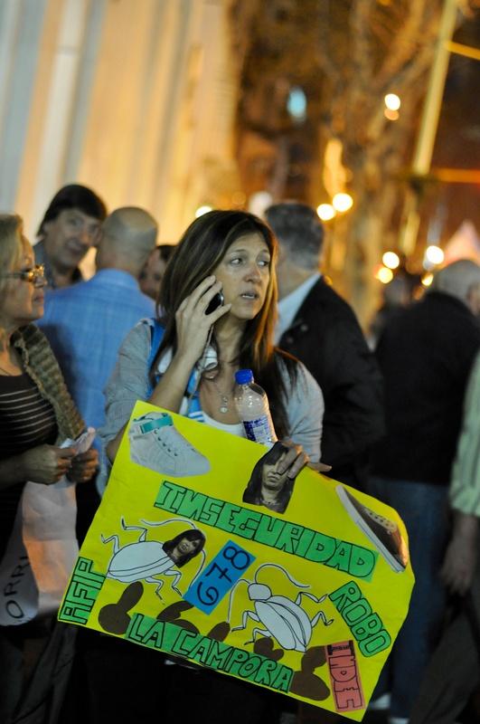 Corteo a Buenos Aires, 13 settembre 2012.