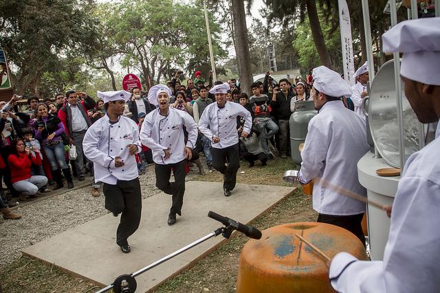 """Festivo """"Baile de los Panaderos""""."""