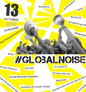 Convocatoria de la cacerolada #GLOBALNOISE? Image taken from the web