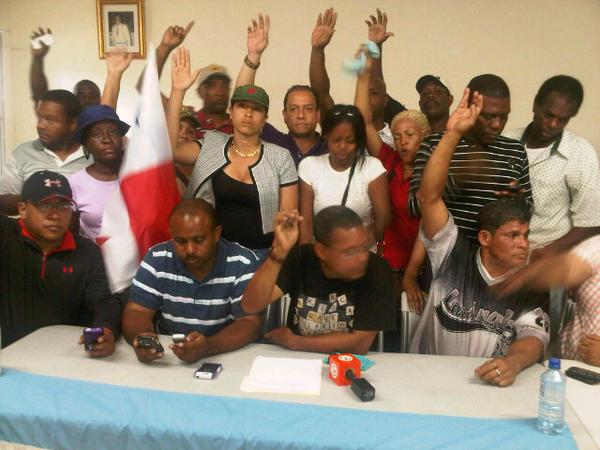 Frente Amplio por Colón, dice que no va negociar con el Gobierno Nacional, piden derogar Ley 72