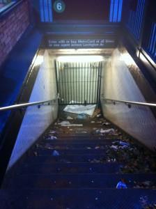 El sistema de trenes en Nueva York no ha prestado sus servicios desde el 28 de octubre