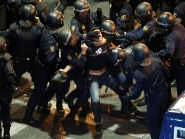 Manifestación del 25 de septiembre en Madrid. Foto de la página de Facebook «15M: Marcha Bruselas»