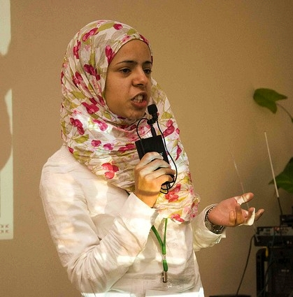 Afef Abrougui, Tunisian blogger and activist