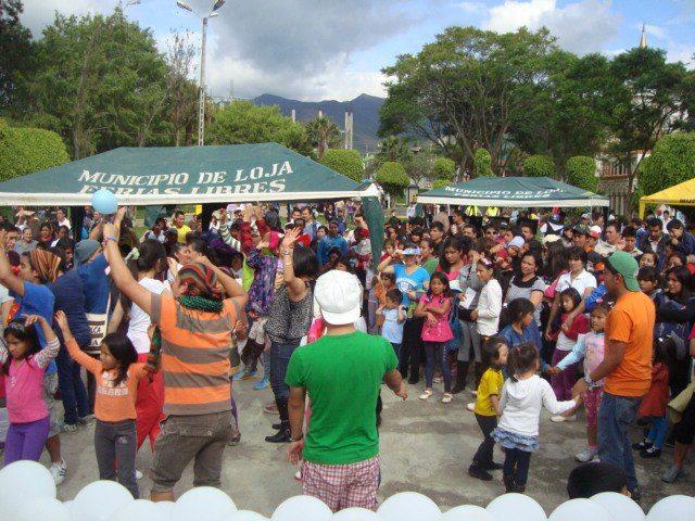 Evento cultural en Loja, Ecuador