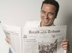 Pablo Herreros, foto del perfil de su blog comunicacionsellamaeljuego.com