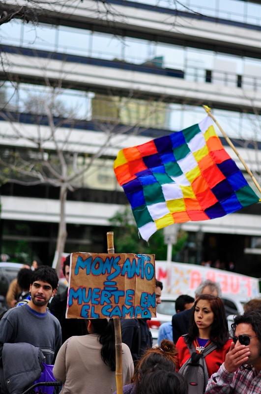 Marcha contra Monsanto en Buenos Aires, Argentina, 17 de septiembre 2012. Foto de Maximiliano Ramos, copyright Demotix.