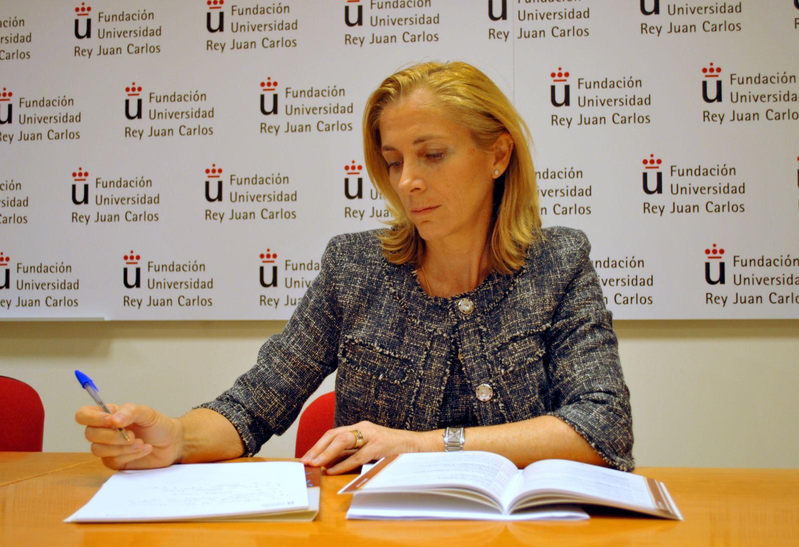 Marina del Corral, secretaria general de emigración. Foto de la página web cartadeespaña.es.