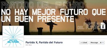 Partido del Futuro España. Tomado de su página de Facebook.