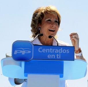 Esperanza Aguirre. Foto tomada de Wikimedia Commons bajo Licencia CC 2.0 Genérico.