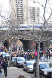 Caminar en las calles de Nueva York junto a tantos niños es un tremendo regalo.