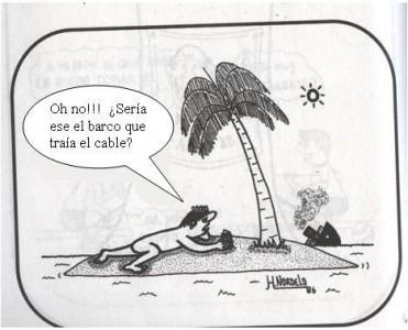 Pubblicato nel blog La Joven Cuba partendo dalle caricature di Gerardo Hernández Nordelo
