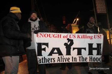 Las protestas ante la muerte de Gray comenzaron el pasado sábado 16. Foto de Javier Soriano.