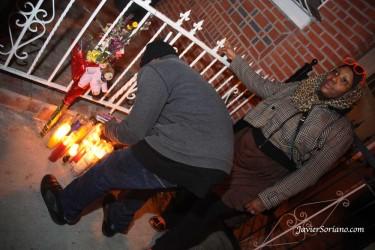 Se han registrado vigilias en el barrio de East Flatbush en Brooklyn. Foto de Javier Soriano.