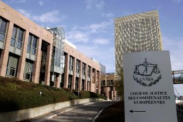 Tribunal de Justicia de la Unión Europea en Luxemburgo. Foto de la web del Parlamento Europeo, utilizada con permiso.