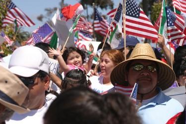 La reforma migratoria vuelve a ser noticia este mes. Foto tomada de Flickr/nathangibbs (CC-BY-NC-SA 2.0)